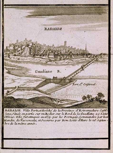 Badajoz, por G. Baillieu