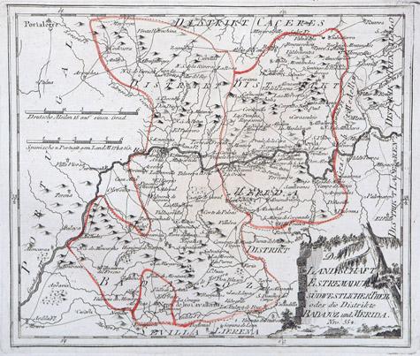 Detalle del asedio de Badajoz de 1812