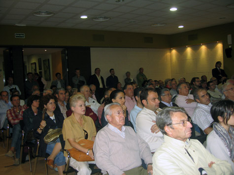 Presentación de Historia e Imagen de un asedio. Badajoz 1705. Público asistente