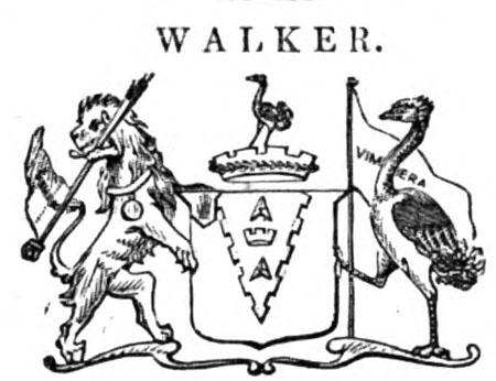 Escudo del 2º baronet Walker