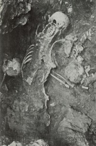 restos de este destacamento hallados en la alcazaba de Badajoz en 1978