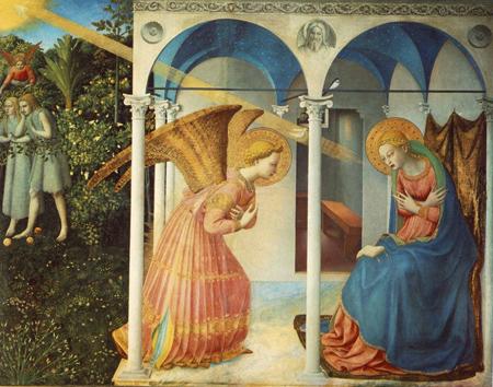 La Anunciación de Fra Angelico, 1426