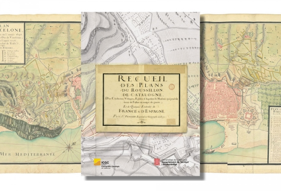 Recueil des Plans du Roussillon, de Catalogne…, de Jacques Pennier
