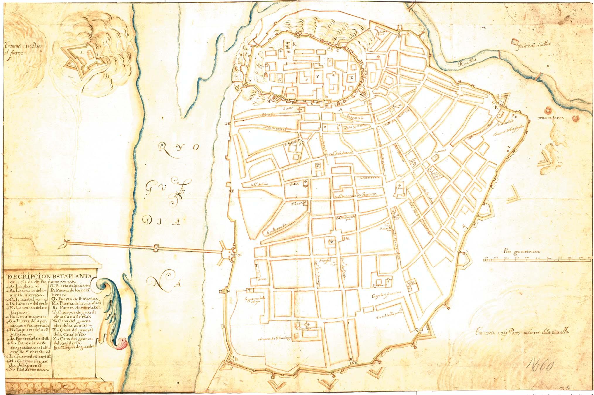 Badajoz 1645.