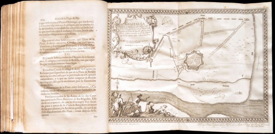 Guastalla sujeta a la obediencia del Rey Cathº Felipe Quinto a 8 de septiembre de 1702