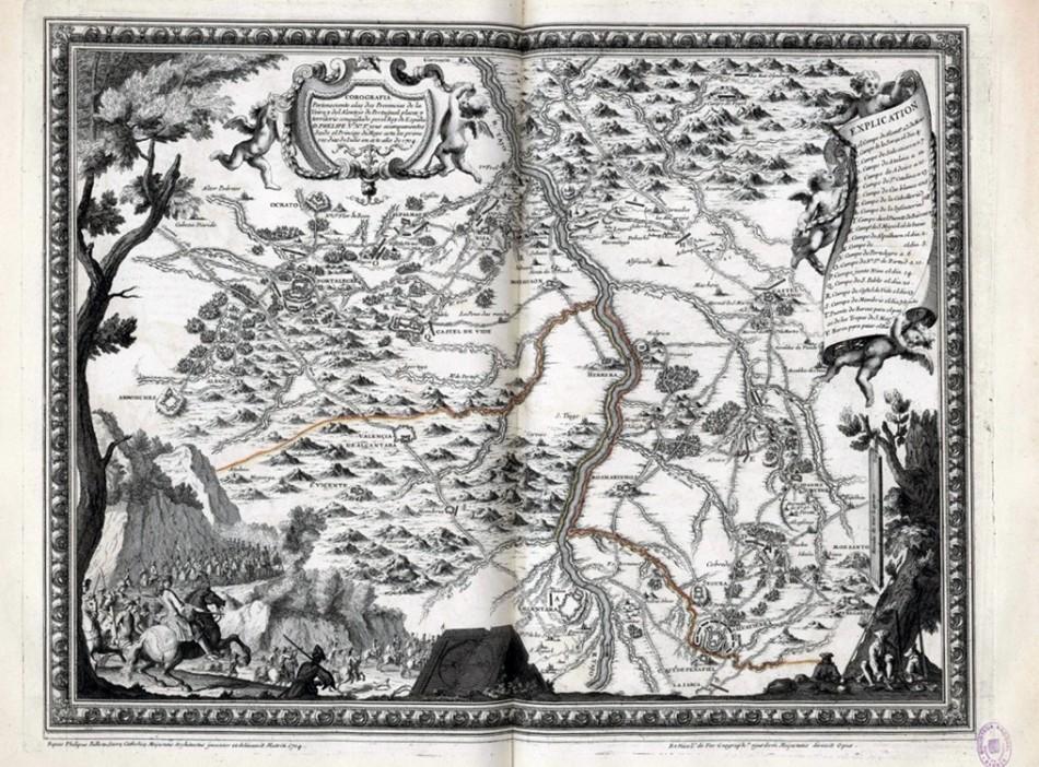 Corografía perteneciente a las dos provincias de la Veira y del Alentejo de Portugal.